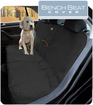 Kurgo Bench Seat Cover charcoal