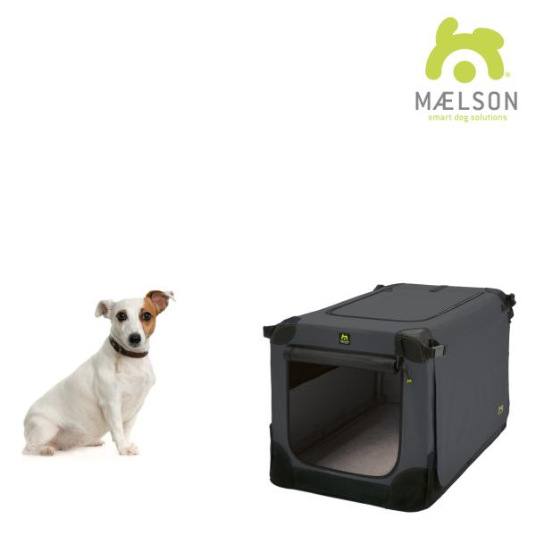 Maelson Soft Kennel Anthrazit Hundebox
